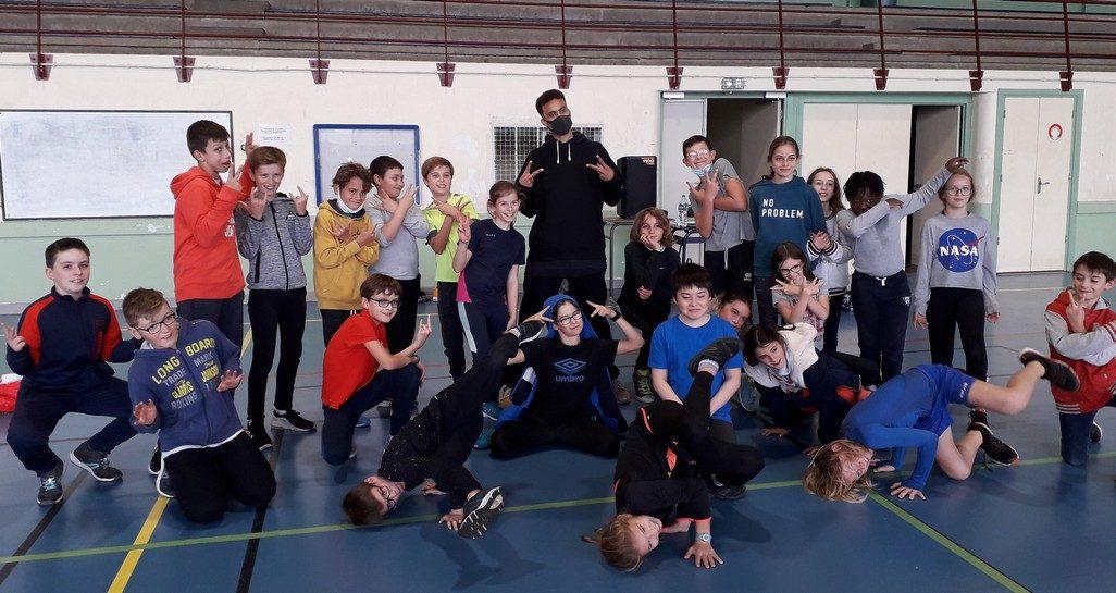 Atelier danse pour les 6D