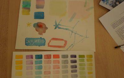 Une artiste Lavalloise invitée à l'atelier aquarelle